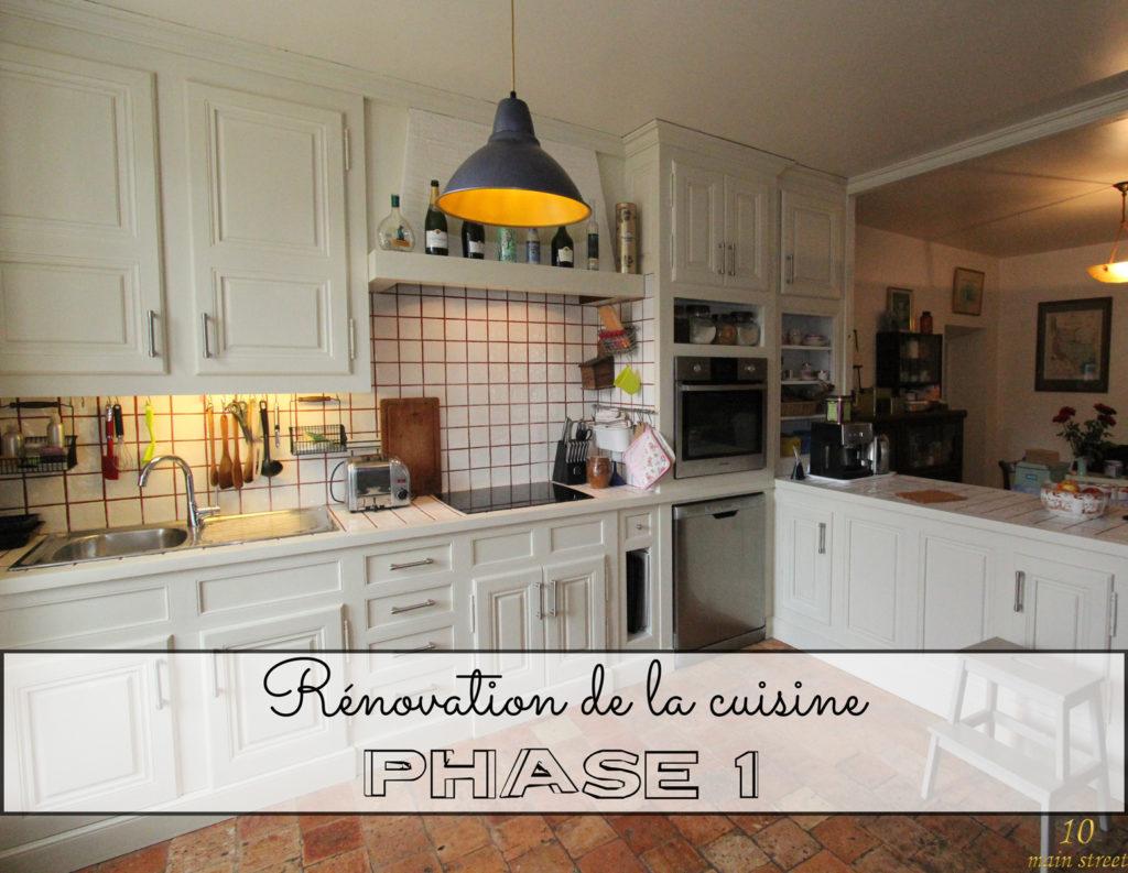 Rénovation de la cuisine : phase 1