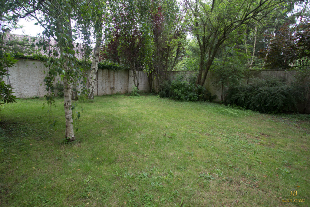 Le fond du jardin