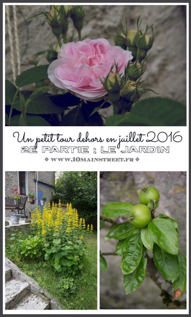 Un petit tour au jardin en juillet 2016