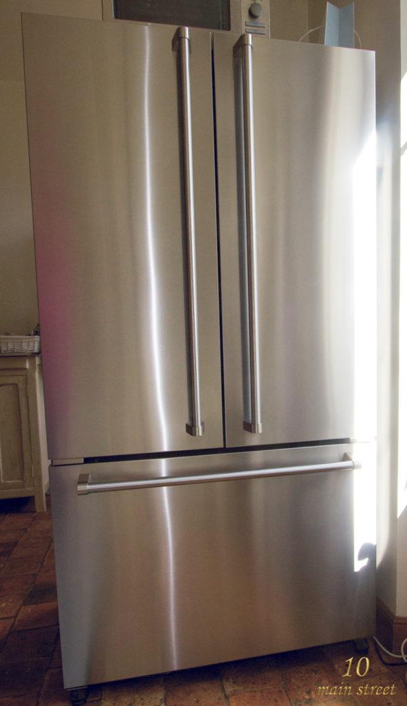 Notre réfrigérateur américain