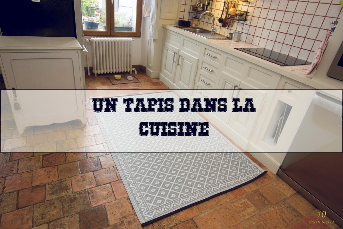 Un tapis pour la cuisine