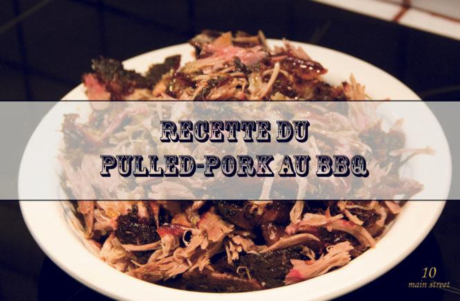 Recette du pulled pork au BBQ