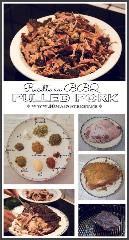 Recette du pulled pork, ou porc effiloché, au BBQ
