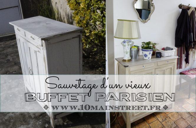 Sauvetage d'un buffet parisien pour l'entrée