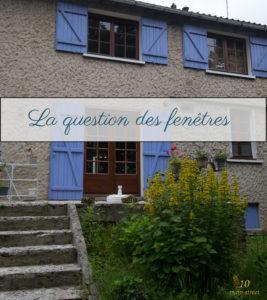 La question des fenêtres