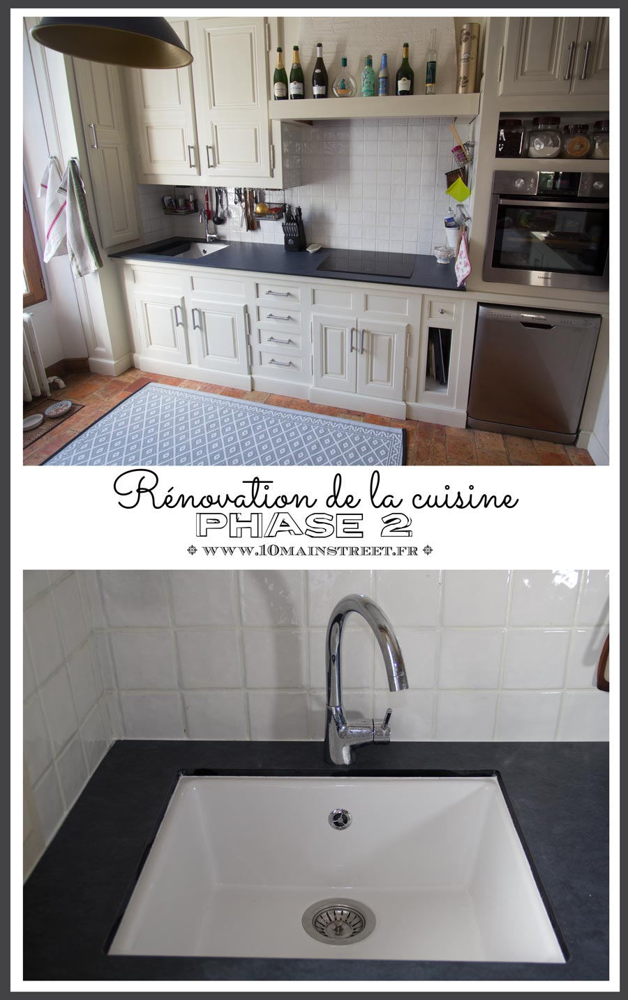 Phase 2 de la r novation de la cuisine plan de travail for Renovation de cuisine