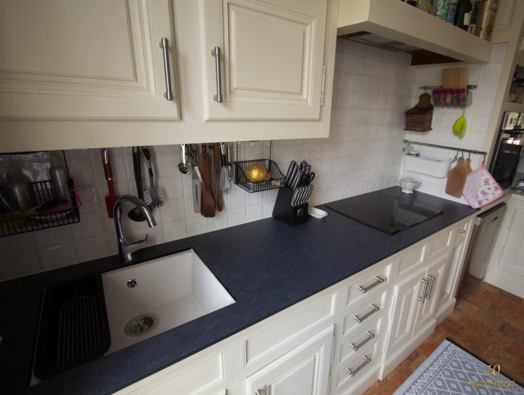 R novation de la cuisine pr paration de l 39 vier ikea domsj sous plan - Evier ancien cuisine ...
