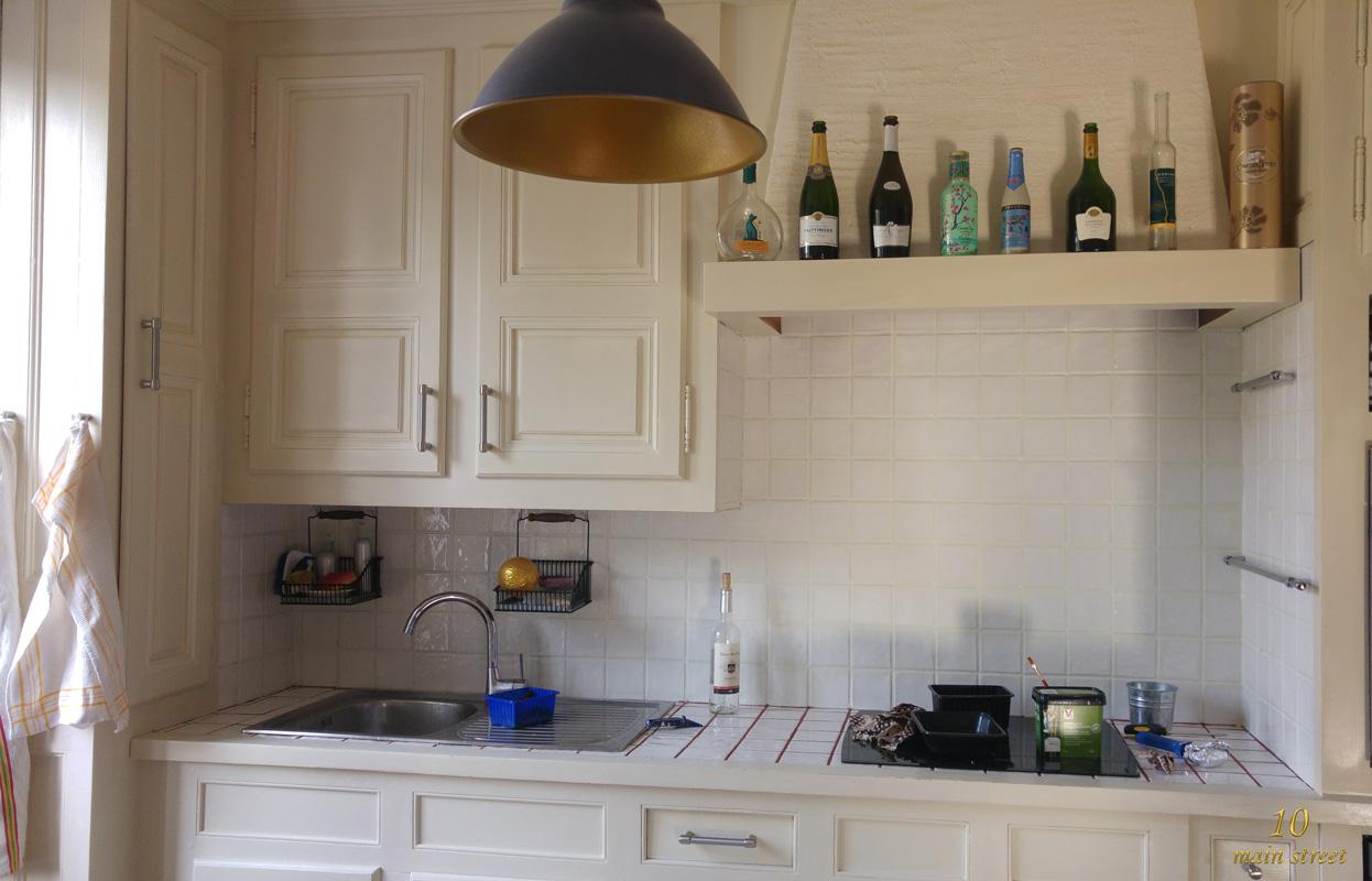 R novation de la cuisine peindre les joints de carrelage for Peindre le carrelage