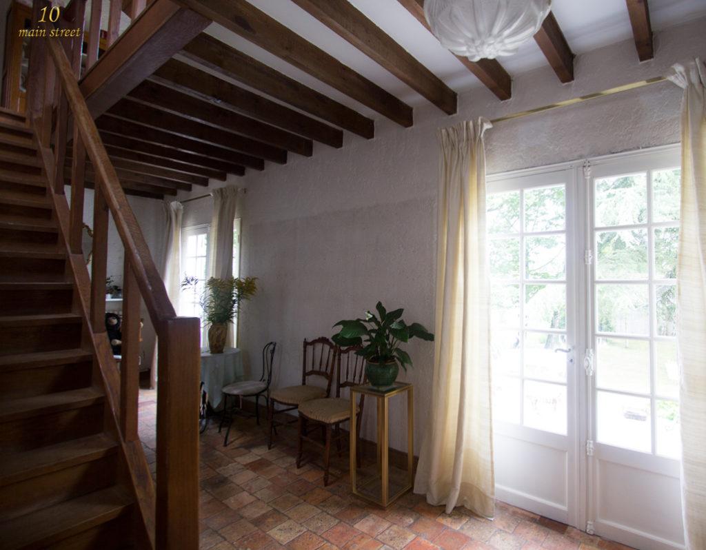 le choix de rideaux l gers en soie sauvage pour les portes. Black Bedroom Furniture Sets. Home Design Ideas