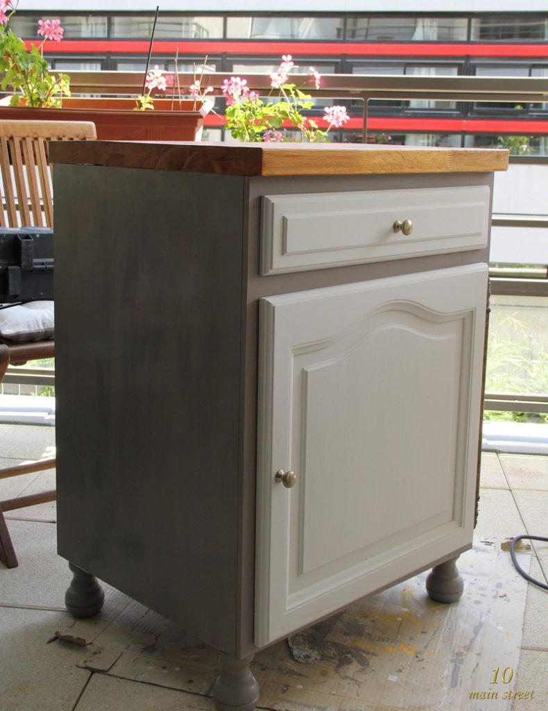 La construction du meuble de l 39 imprimante pour le bureau for Meuble bureau imprimante