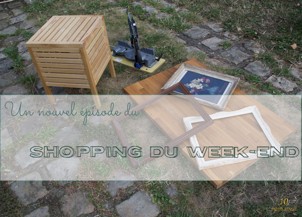 Shopping du week-end : cadres Montparnasse et autres merveilles