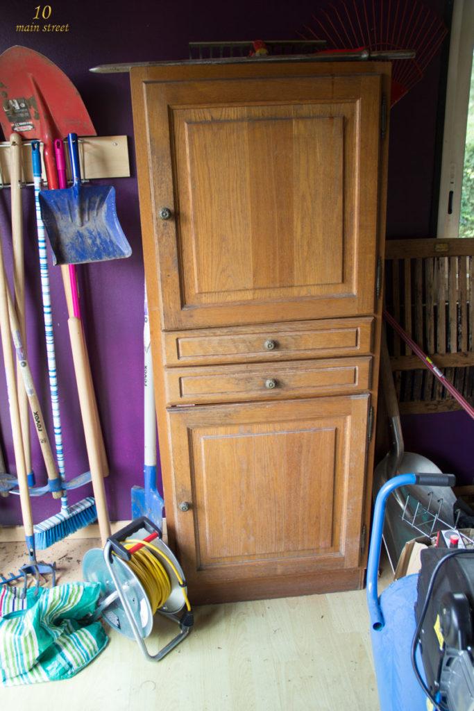 L'armoire avant relooking