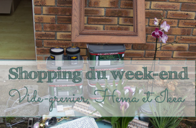 Shopping du week-end : vide-grenier, Hema et Ikea