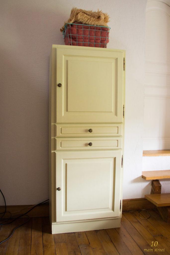 L'armoire relookée