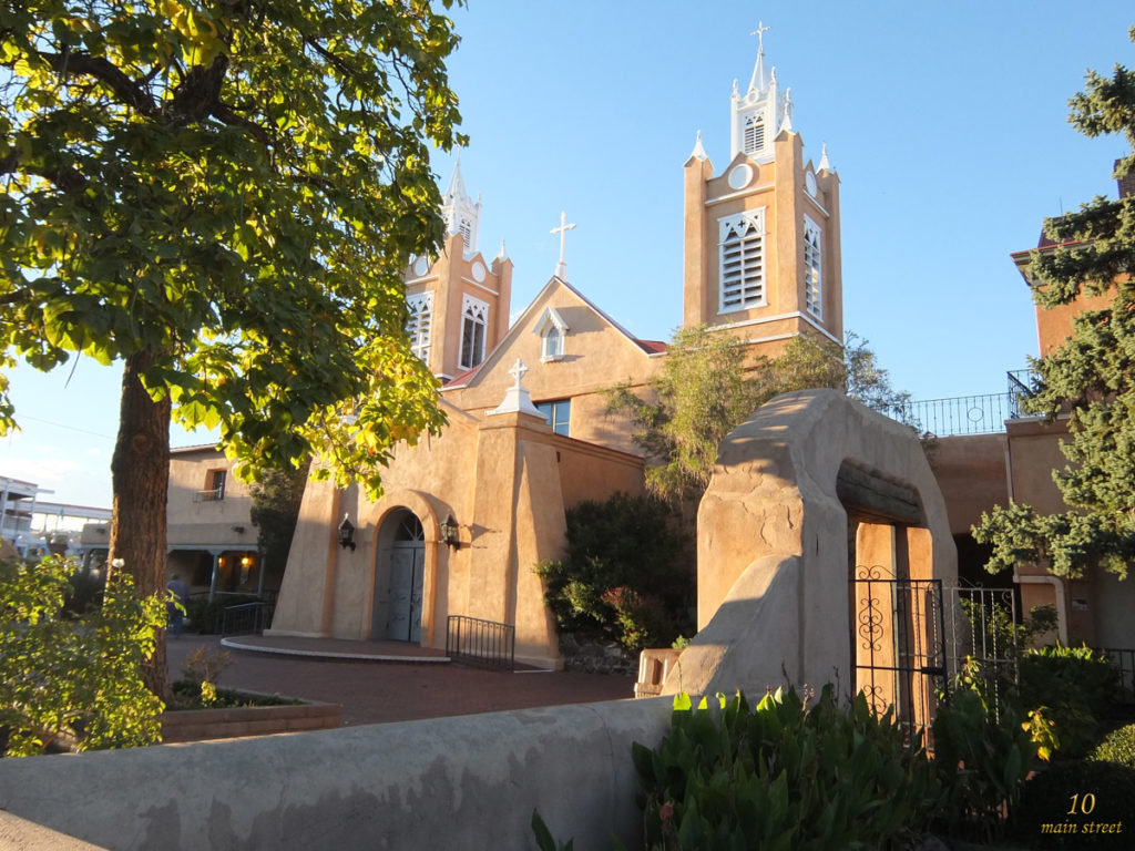 San Felipe de Neri Church, old Town, Albuquerque