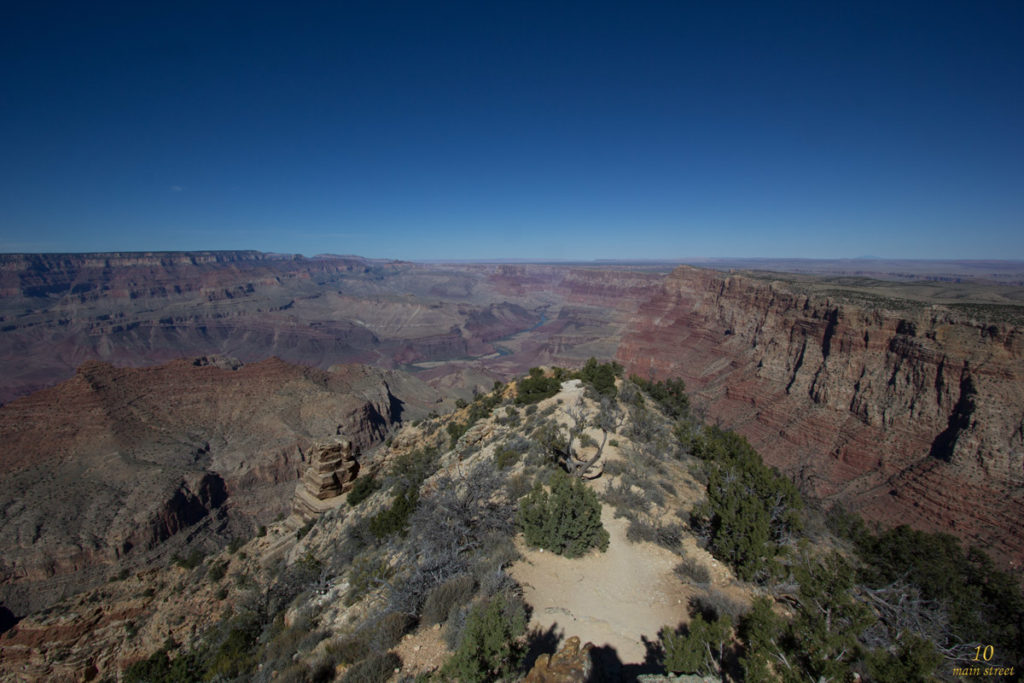 Aperçu du Colorado au Grand Canyon