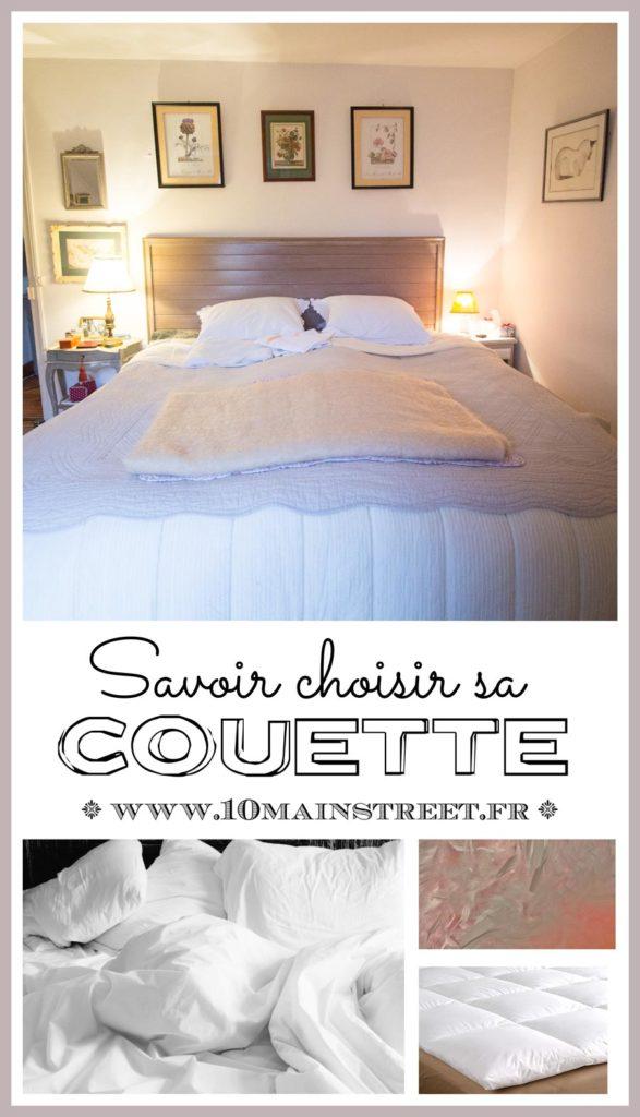 savoir choisir sa couette douceur et confort pour bien dormir. Black Bedroom Furniture Sets. Home Design Ideas