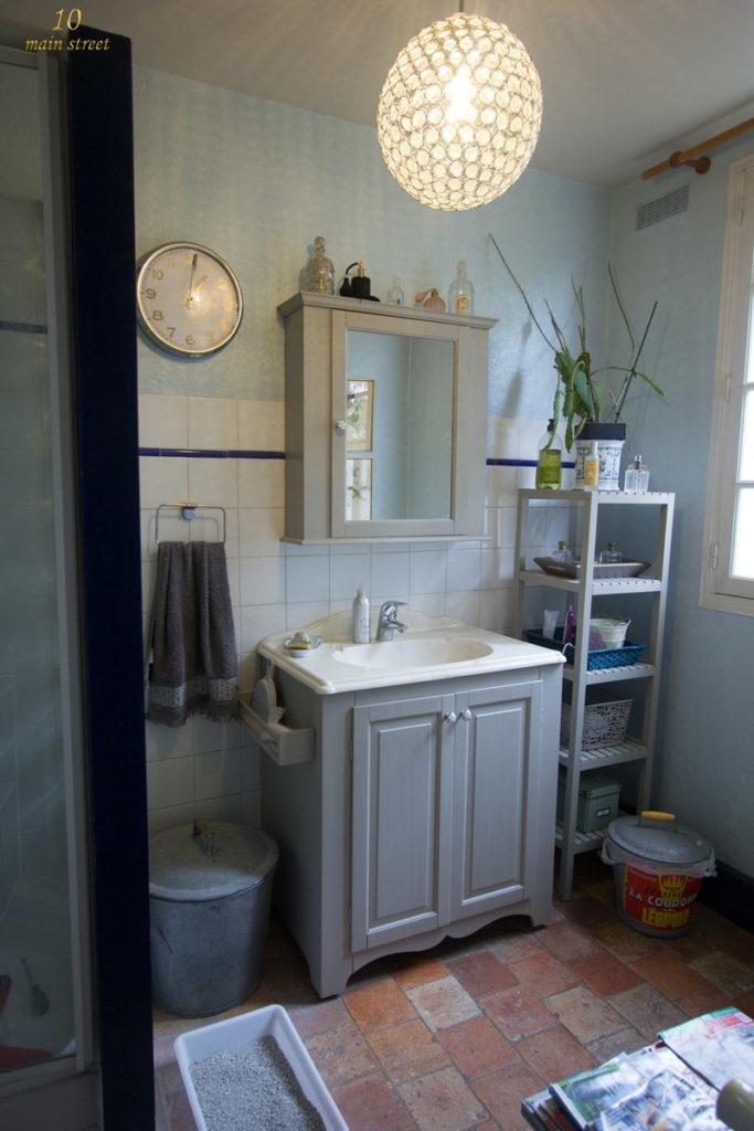 Petites améliorations à la peinture dans la salle de bain