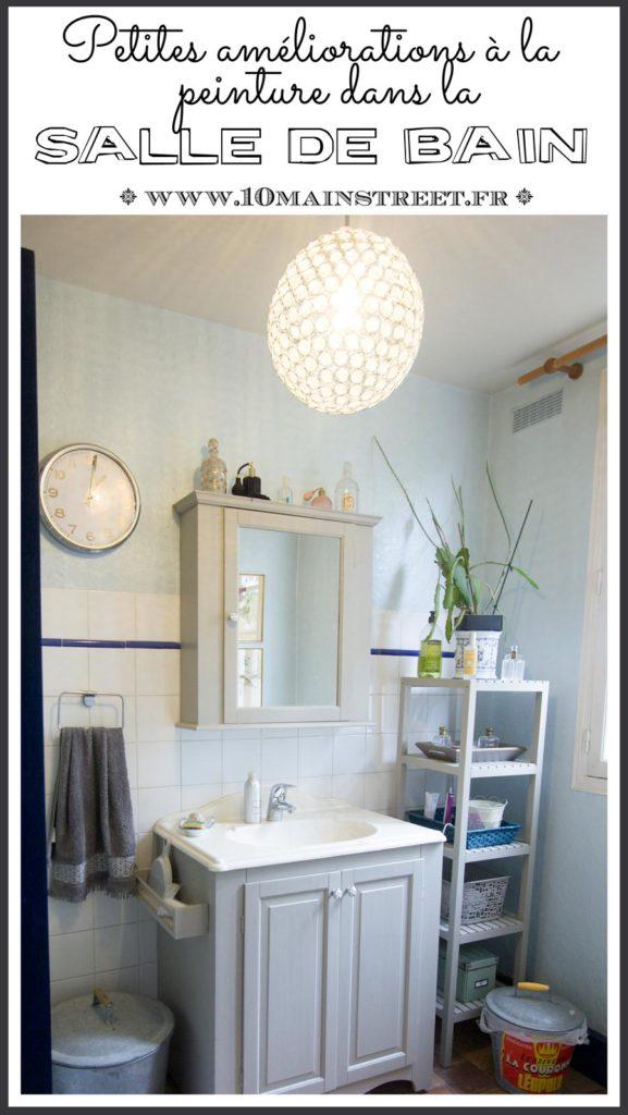 Petites améliorations à la peinture dans la salle de bain | bathroom mini make-over with paint
