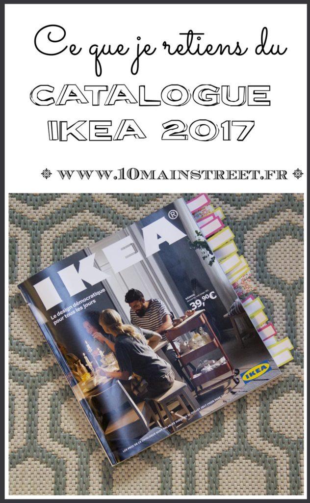 Ce que je retiens du catalogue Ikea 2017