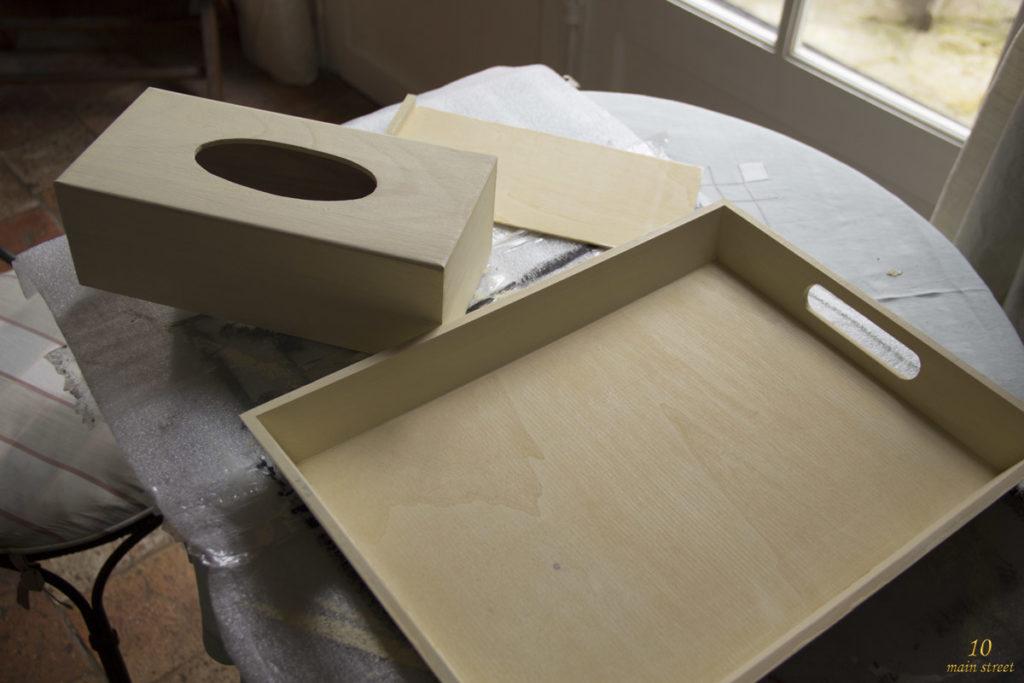 Supports à peindre en bois