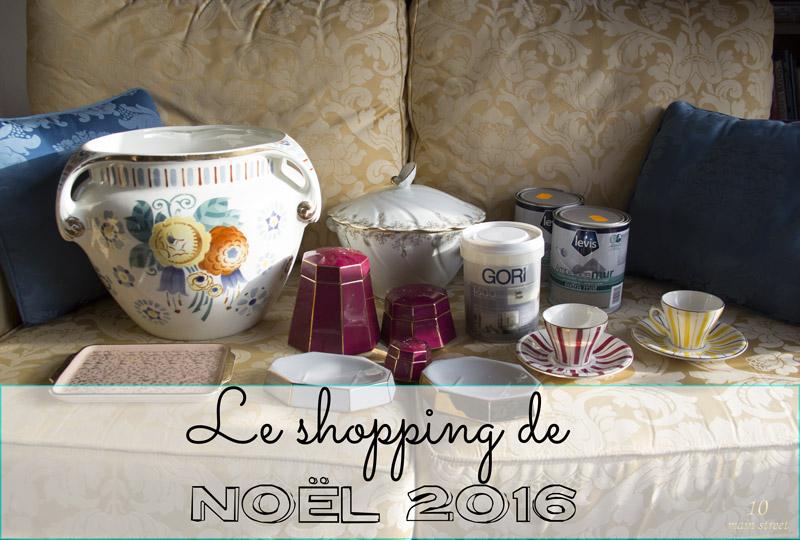 Le shopping de Noël 2016