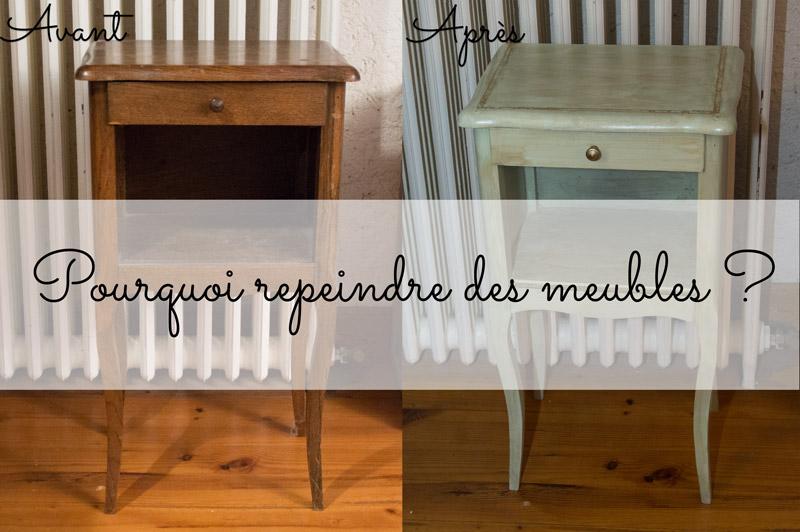 Pourquoi repeindre des meubles ?