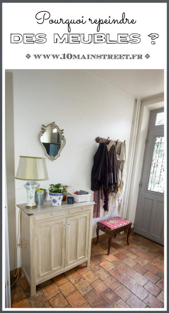 Pourquoi repeindre des meubles ? #bricolage #decoration #relookingemeuble #furnituremakeover