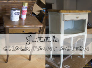 J'ai testé la Chalk Paint Action