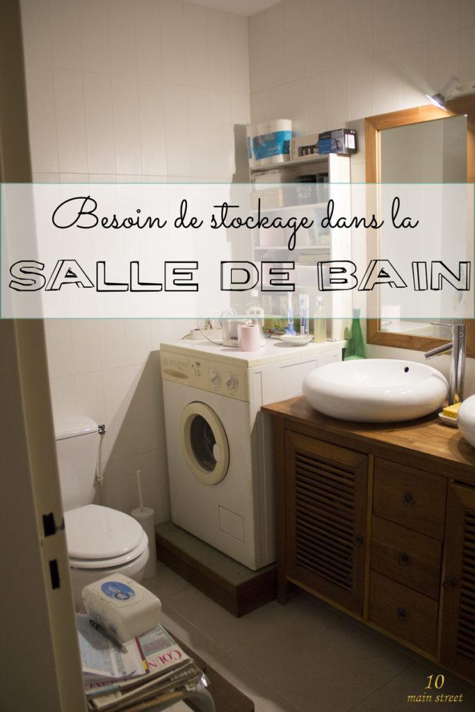 Besoin de stockage dans la salle de bain de mes parents #organisation
