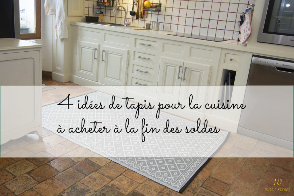 4 tapis pour la cuisine acheter en ligne la fin des soldes. Black Bedroom Furniture Sets. Home Design Ideas