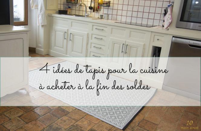 4 idées de tapis pour la cuisine