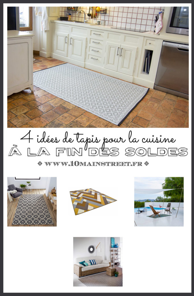 4 idées de tapis pour la cuisine #shopping