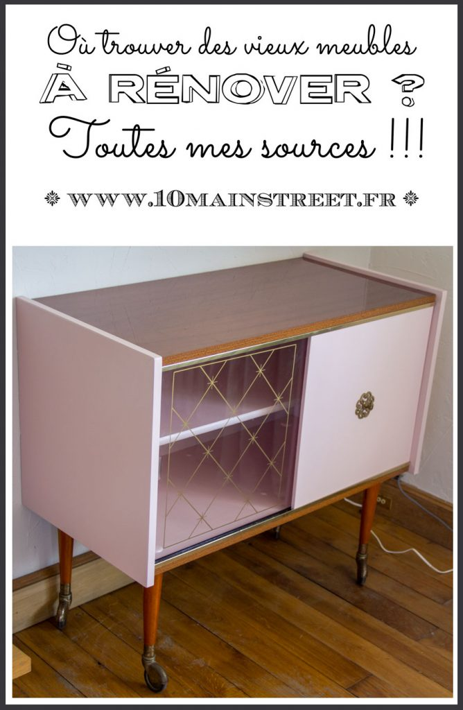 Où trouver des vieux meubles à rénover ? #shopping #thriftshopping #frugal #retourdechine #chine