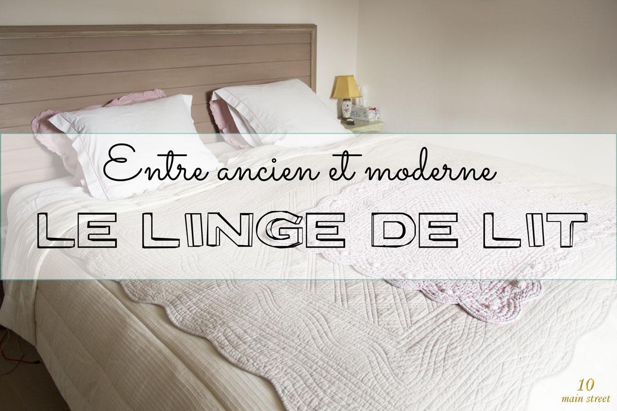 linge de lit à l ancienne Entre ancien et moderne : savoir choisir du linge de lit linge de lit à l ancienne