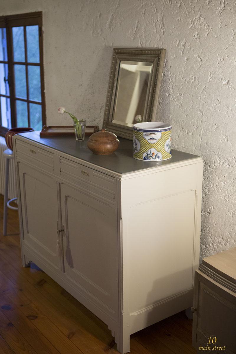 r novation d 39 un vieux buffet art d co bien ab m la. Black Bedroom Furniture Sets. Home Design Ideas