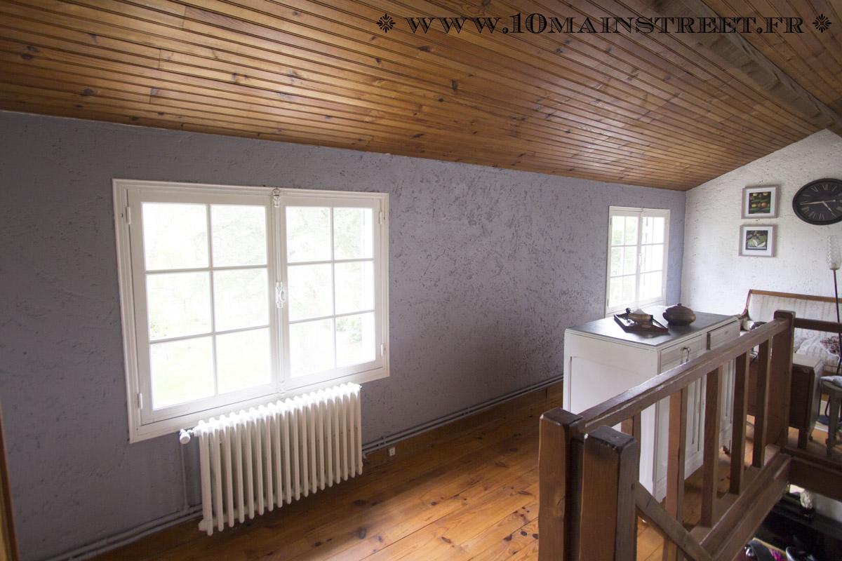 peindre un mur cr pi l 39 int rieur de votre maison facilement