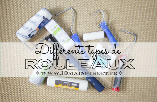 Différents types de rouleaux