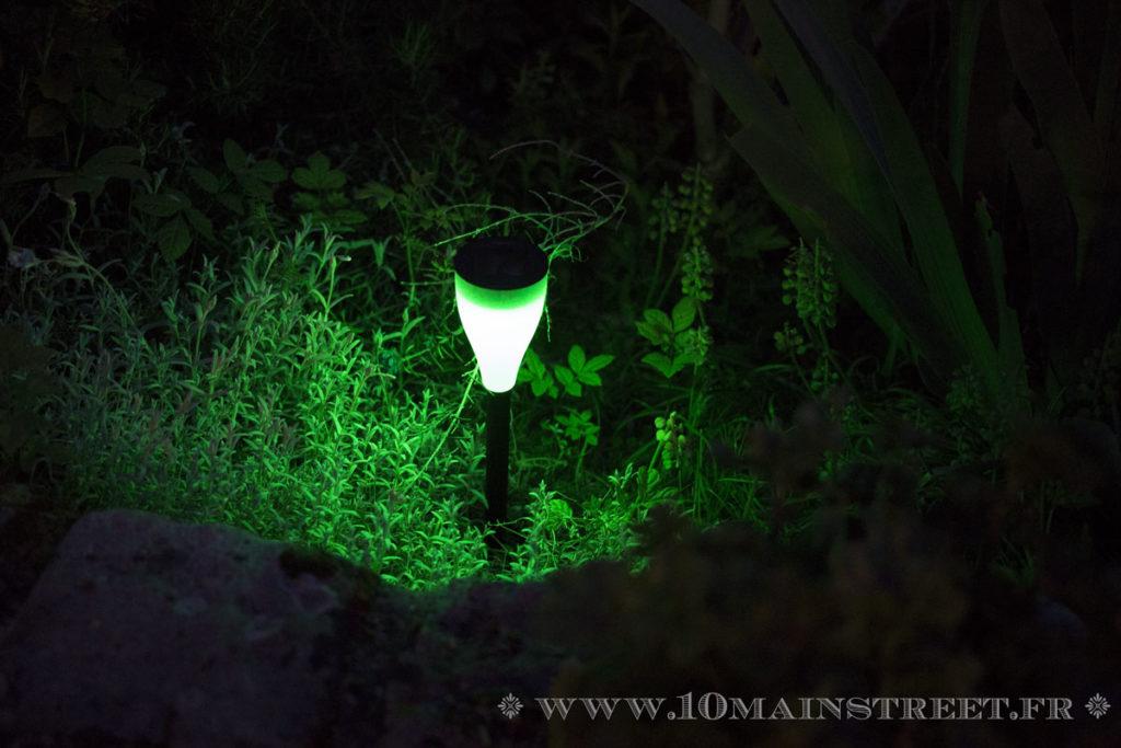 Luminaire allumé