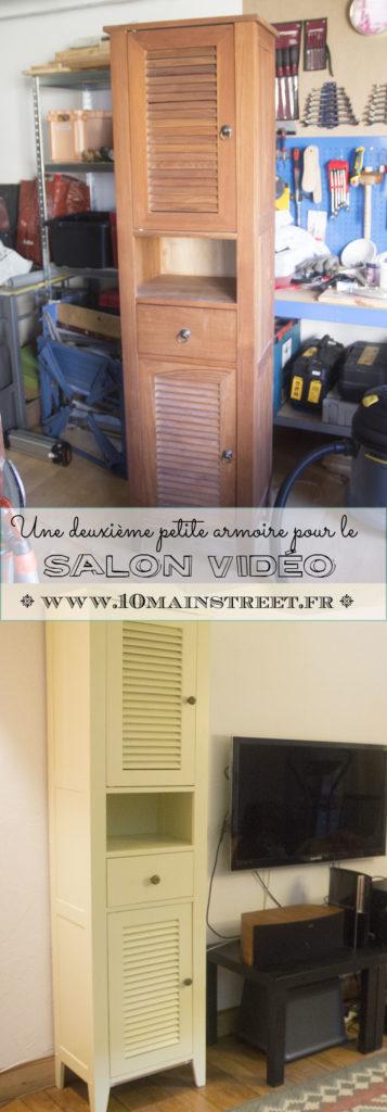 2e petite armoire pour le salon vidéo | www.10mainstreet.fr