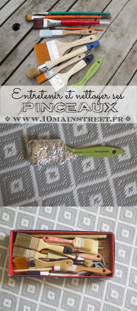 Entretenir et nettoyer ses pinceaux | www.10mainstreet.fr