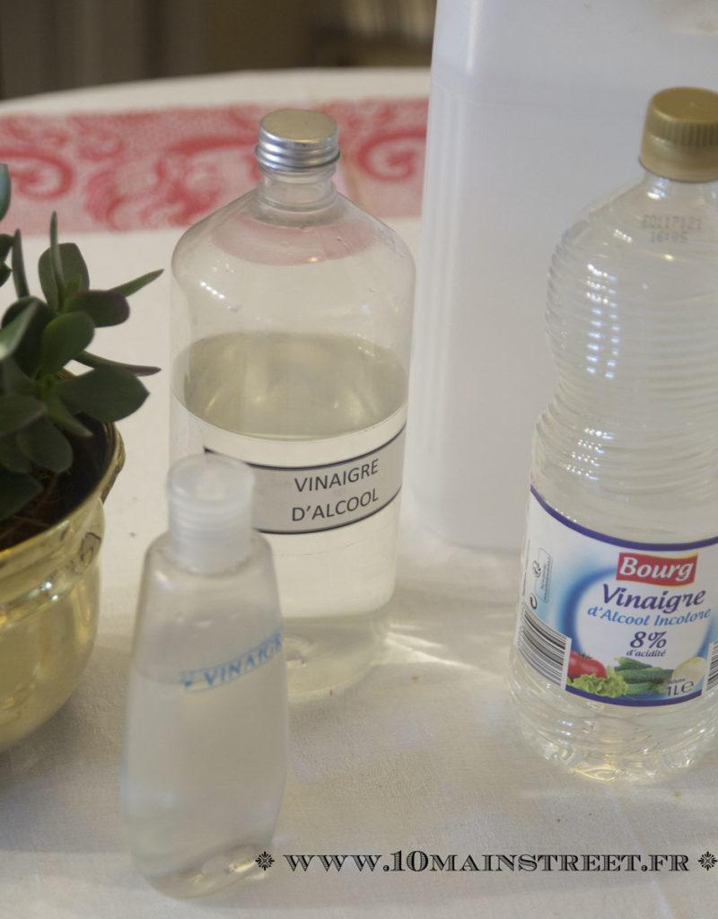 Les astuces de no mie 3 usages pour le vinaigre blanc for Vinaigre blanc pour lave vaisselle