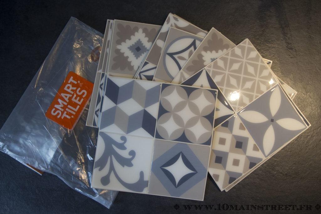 Smart Tiles déballées