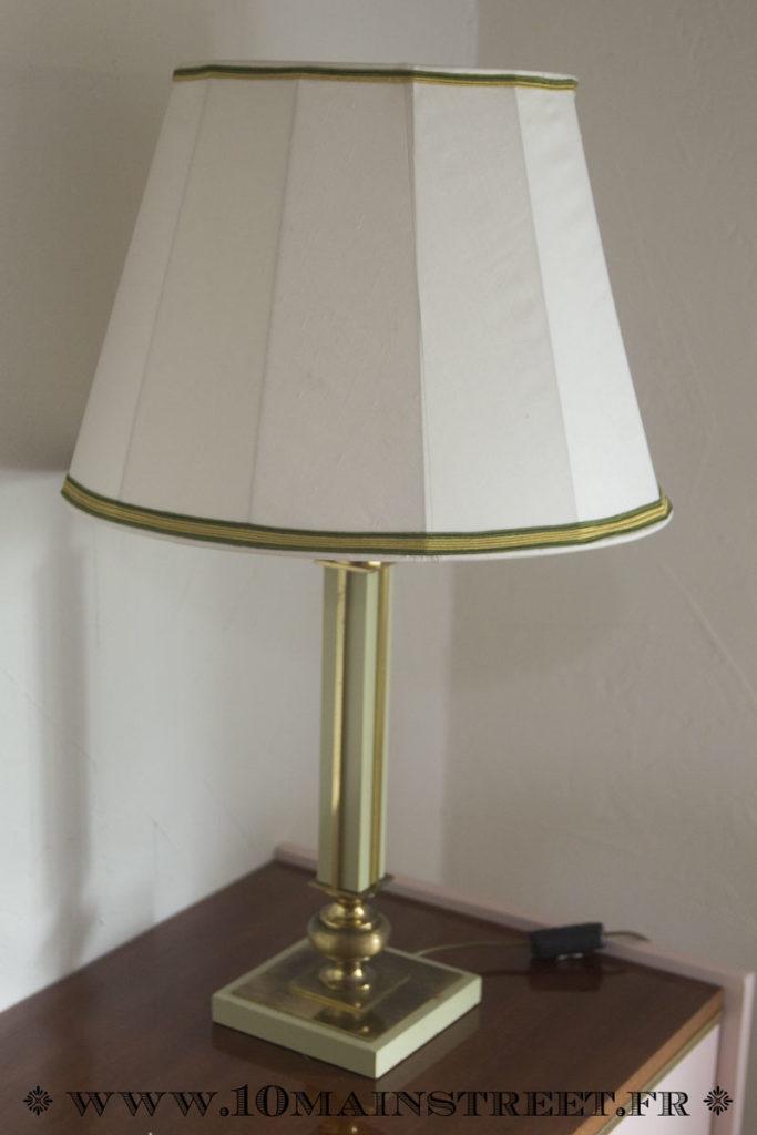 Lampe des années 60 rénovée