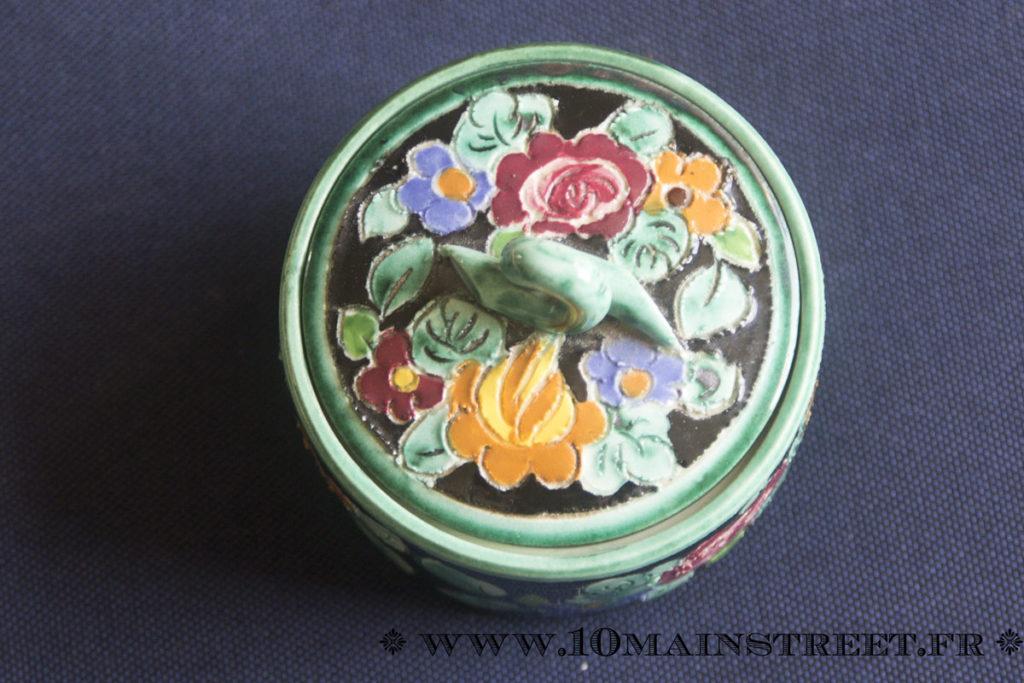Bonbonnière en céramique de Monaco