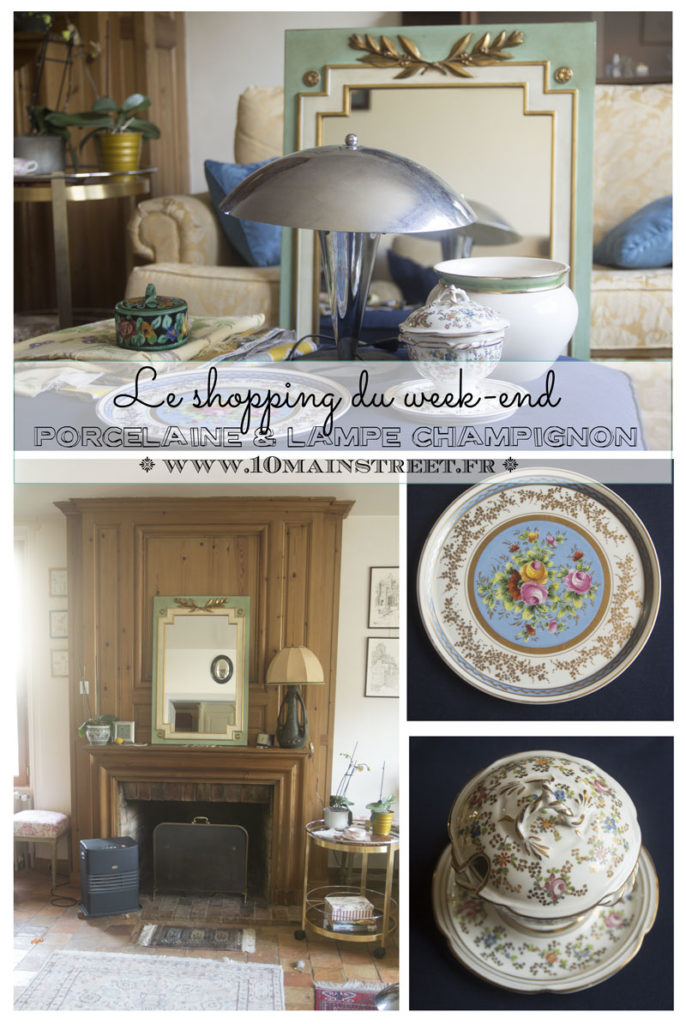 Le shopping du week-end : de la porcelaine et une lampe champignon | www.10mainstreet.fr