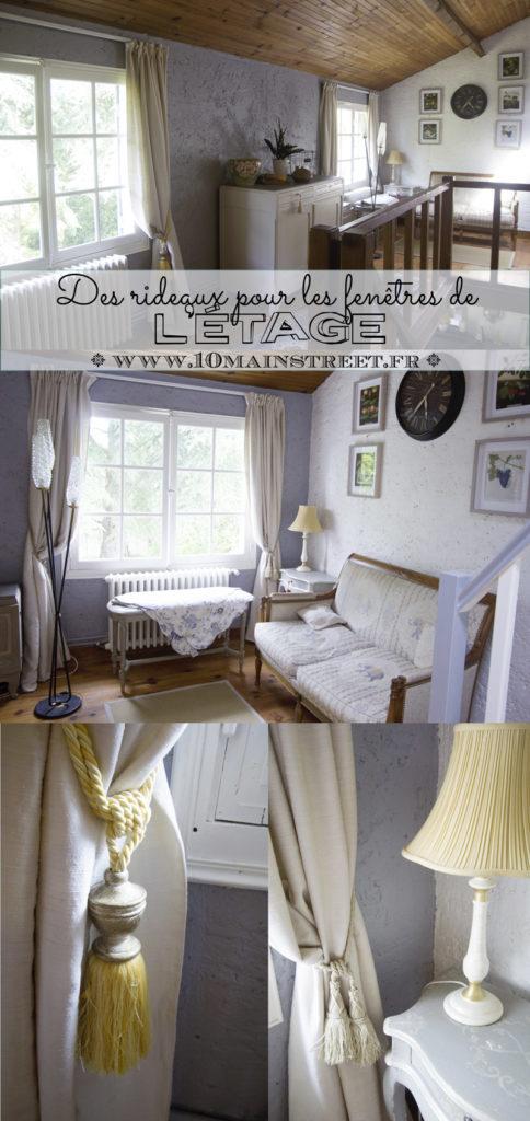 Des rideaux pour les fenêtres de l'étage | www.10mainstreet.fr