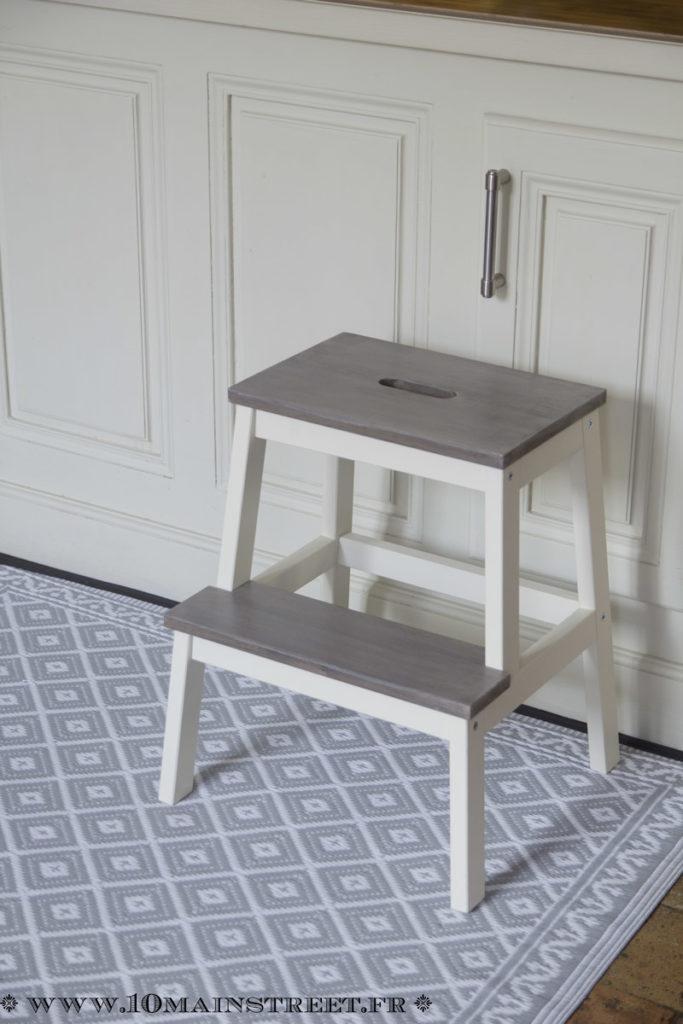 Marche-pied Ikea Bekväm personnalisé
