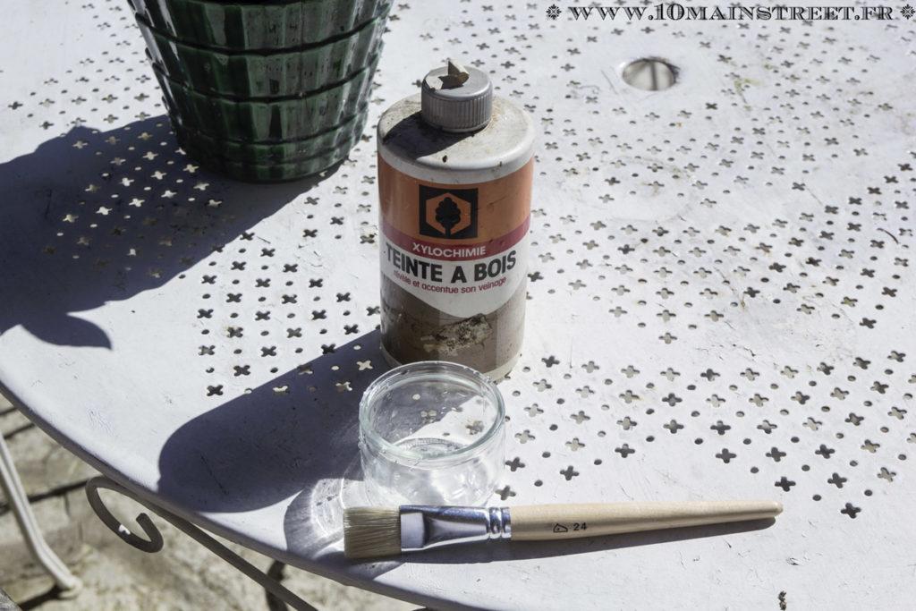 Teinte à bois à l'eau