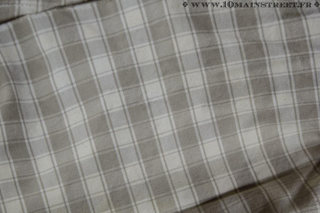 Tissu des rideaux